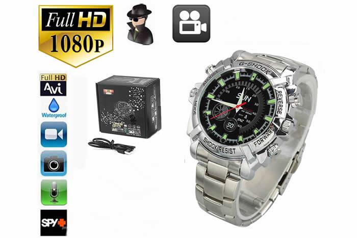 cf1f6755aa0 Relógio Espião - Relógios Câmera Escondida - Relógio Câmera Oculta